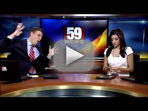 Anchor Shakes It Off, Gets Ignored by Fellow Anchor