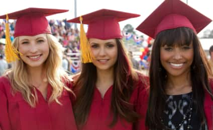 The Vampire Diaries Season Finale Pics: Graduation Day!
