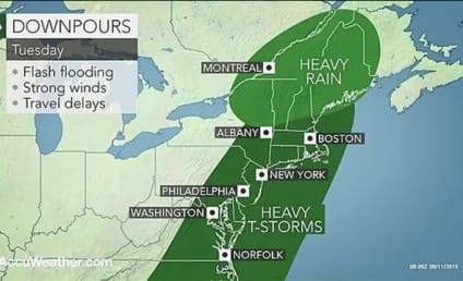 This Weather Map Looks Just Like a Penis!