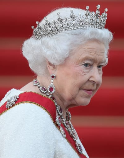 Queen Elizabeth in Action