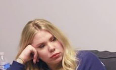 Kailyn Lowry Looks Sad