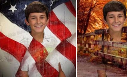 12-Year Old Blends Into Green Screen for School Pics, Hilarity Ensues