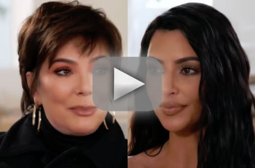 Kim kardashian watch her request reduce kris jenner to tears