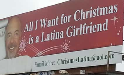 Millionaire's Billboard Plea Removed; La Jolla Man Seeks Latina Girlfriend
