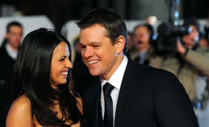 Cute Celebrity Babies Alert: Matt Damon's Daughters