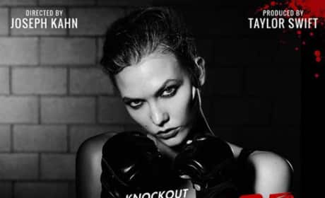 Karlie Kloss as Knockout