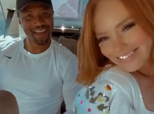 Kathryn Dennis Smiles with Chleb Ravenell