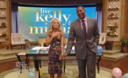 Michael Strahan Debuts as Kelly Ripa Co-Host on Live!