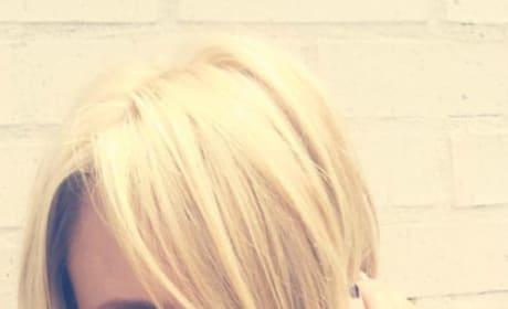 Miranda Lambert as a Blonde