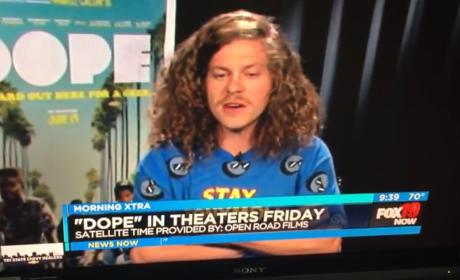 Blake Anderson Drops F Bomb, Gets Booted from Interview