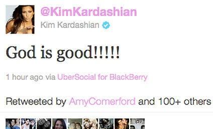 Kim Kardashian on Wedding: God is Good!