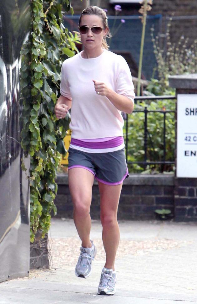 Pippa Middleton Jogging