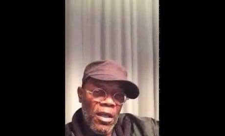 Samuel L. Jackson Facebook Video: Rise Up, Celebrities!
