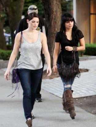 Ashley Greene and Vanessa Hudgens