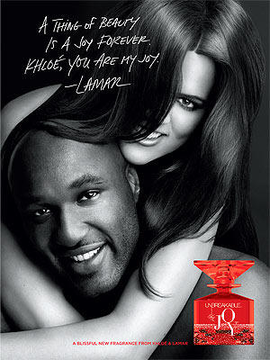 Khloe Kardashian and Lamar Odom Fragrance