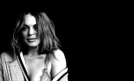 Lindsay Lohan: Topless For Love Magazine!