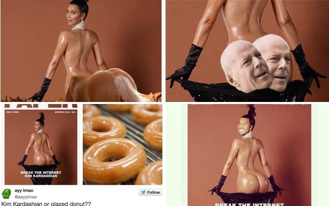 Kim kardashian paper cover memes kim kardashian as a centaur