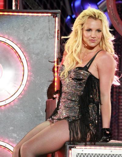 Britney Spears Live on Jimmy Kimmel