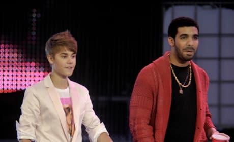 Drake and Justin Bieber