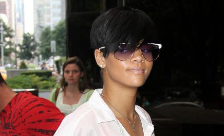 Rihanna's White Top