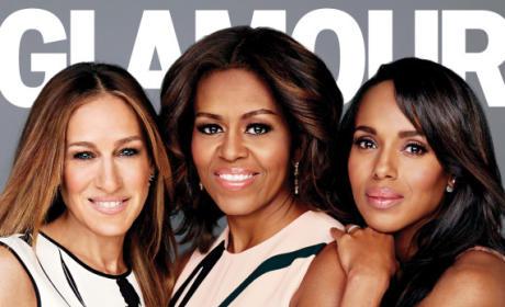 Sarah Jessica Parker, Michelle Obama and Kerry Washington