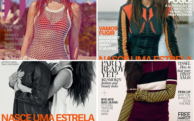 Selena gomez covers w magazine