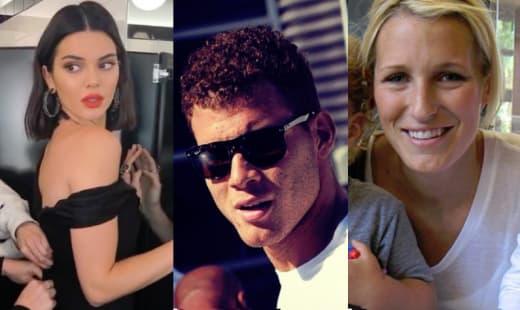 Kendall Jenner, Blake Griffin, Brynn Cameron Split