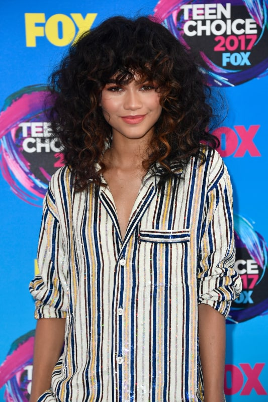 Zendaya goes casual