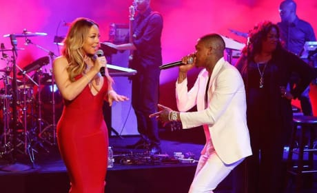 Mariah Carey on Jimmy Kimmel Live