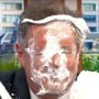 Piers morgan pied in the face as he deserves