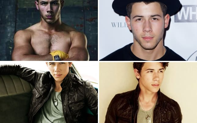 Shirtless nick jonas