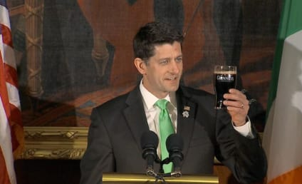 Paul Ryan Pretends to Drink Guinness, Earns Ire of Internet