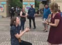 Couple Pops Surprise Proposals to Each Other at the Same Time: WATCH!