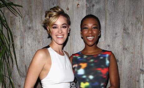 Samira Wiley and Lauren Morelli Pic