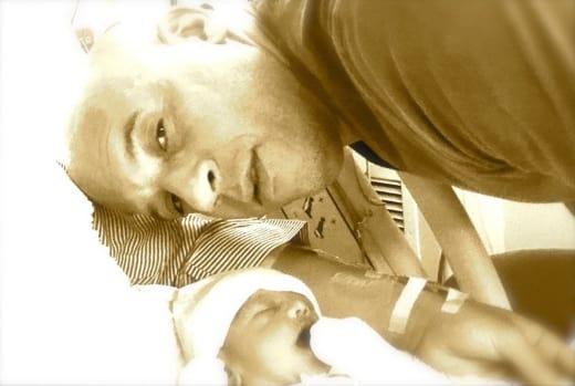 Vin Diesel Baby Photo