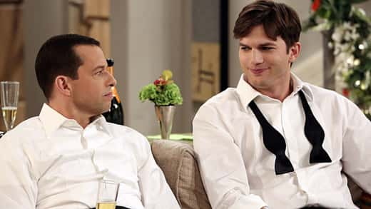 Walden and Alan on Two and a Half Men