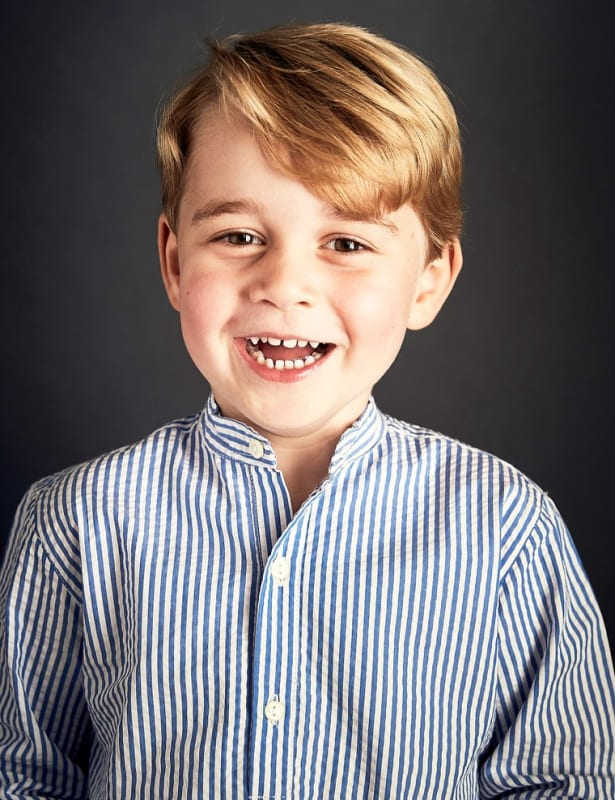 Prince George Portrait at 4