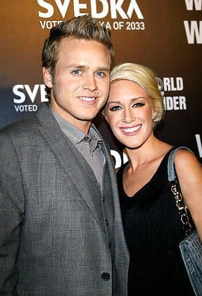 Mr. and Mrs. Spencer Pratt
