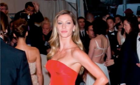 Gisele at the MET