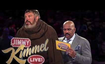 """Game of Thrones' Hodor on Family Feud: Survey Says """"Hodor!"""""""