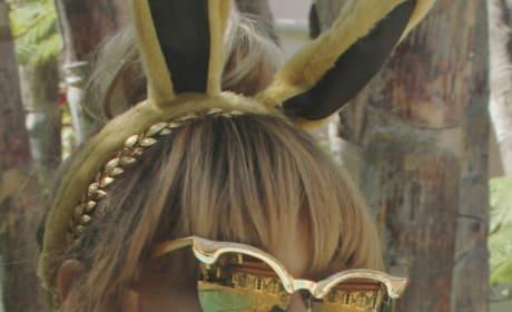 Beyonce Bunny Ears Photo