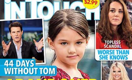 Suri Cruise ABANDONED by Tom, Magazine Claims