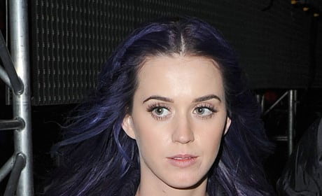 Katy Perry, Purple Hair
