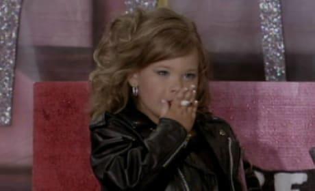 Toddlers & Tiaras' Destiny Smoking