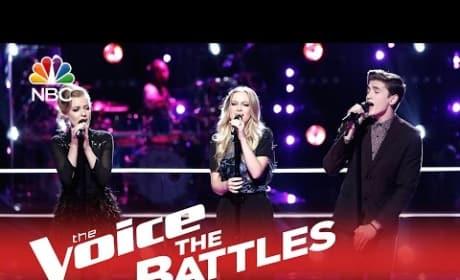 Andi & Alex vs. Chance Pena (The Voice Battle Round)