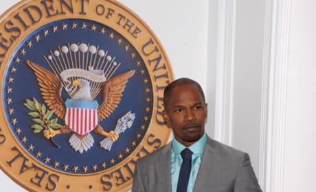 Jamie Foxx in White House Down