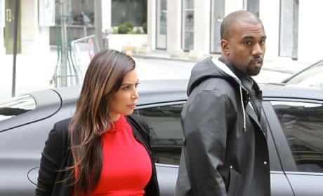 Kim Kardashian, Kanye West Photograph
