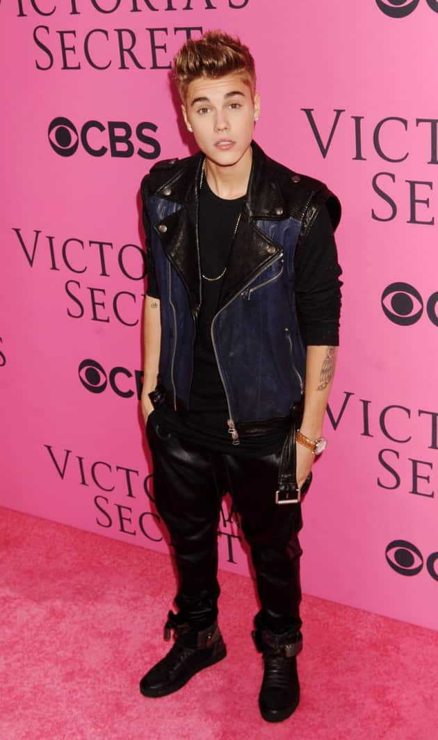 Justin Bieber for Victoria's Secret