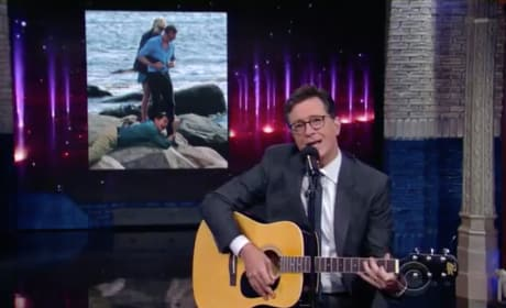 Stephen Colbert Sings