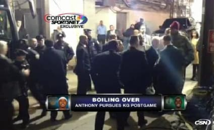 Carmelo Anthony vs. Kevin Garnett: Caught on Camera!